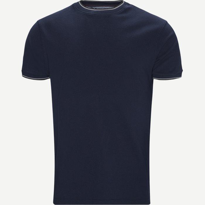 Croix Crewneck T-shirt - T-shirts - Regular - Blå